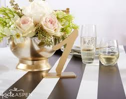 Black Gold Wedding Decorations Black And White Wedding Archives Kate Aspen Blog