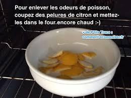 enlever odeur de cuisine odeurs de poisson dans le four comment les faire disparaître