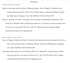 Apa Citation Book Chapter And Page Number