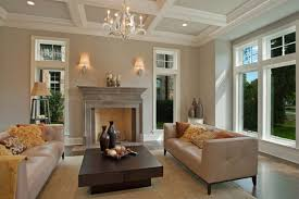 interior admirable gray wall paint indoor stone fireplace design