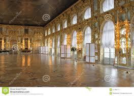 catherine u0027s palace hall tsarskoe selo russia stock image
