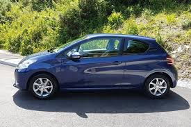 blue peugeot used peugeot 208 12 vti 82 active for sale in penryn cornwall