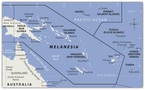 Oceania Blank Map by Oceania Studiesandsuch