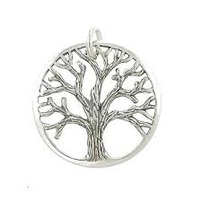 tree symbol meaning amazon com round open design textured tree of life pendant in