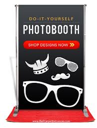 do it yourself photo booth diy step repeat kits carpet runner backdrop distributor