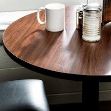 lancaster table and seating table seating 24 laminated round table top reversible walnut oak