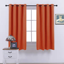 Noise Reduction Drapes Nicetown Blackout Curtains U0026 Drapes Orange Noise Reduction