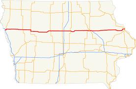 Map Of Cedar Falls Iowa U S Route 20 In Iowa Wikipedia