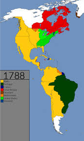 The Americas Map by Americas 1492 2015 Every Year Youtube