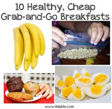 10 awesome grab and go breakfast ideas babble