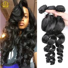 body wave vs loose wave hair extension exotic wave 8a mongolian loose wave virgin hair 3 bundle deals