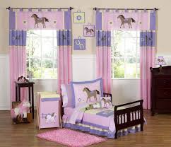 Comforters For Toddler Beds Pink Pony Horse Toddler Bedding Set 5pc Bed In A Bag