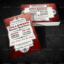 halloween monster mash party invitation by viral legacy graphicriver