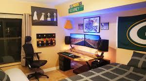 Desk For Dual Monitor Setup Amazing Dual Monitor Setup Setup Spotlight Youtube