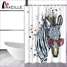 Red Black Shower Curtain Bathroom Fabulous Cheap Beach Shower Curtains Red And Black