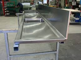 Second Hand Work Bench Stainless Steel Benches Ebay Gunnar Stainless Steel Bench