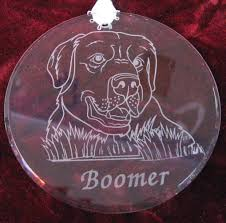 glass ornaments personalized