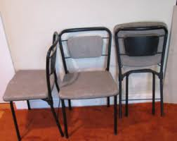 Cosco Folding Table And Chairs Metal Folding Chair Etsy