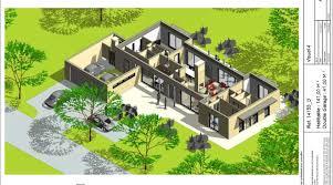 plan de maison plain pied 5 chambres plan maison 5 chambres plain pied bricolage maison