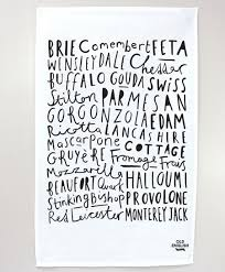 kitchen towel designs cheese tea towel old english company lettering pinterest
