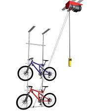 Bicycle Ceiling Hoist by Powerrax Motorized Garage Overhead Storage Powerrax Motorized