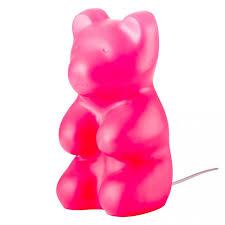 jelly bear lamp pink the conran shop