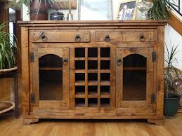 Dining Room Table With Wine Rack by Sideboards Stunning Rustic Dining Room Buffet Rustic Dining Room