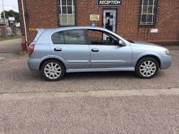 2006 nissan almera 1 5sx petrol manual gearbox 2 keys half leather
