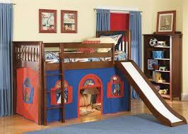 Slide Bunk Bed Wonderful Loft Beds For With Slide Thedigitalhandshake