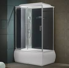 bathtub shower unit built in bathtub shower combination rectangular acrylic k