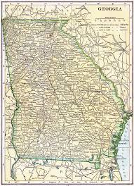 Map Of Tennessee And Georgia by Georgia Genealogy U2013 Access Genealogy