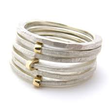 best 25 gold and silver rings ideas on silver and