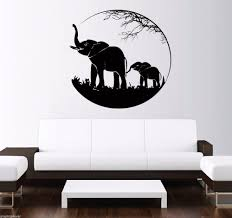 Vinyl Wall Decals Compare Prices On Elephant Decals Online Shopping Buy Low Price