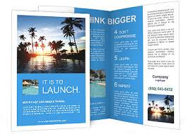 15 beach resort brochure templates