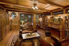 arts and crafts bathroom interiors arts crafts style library