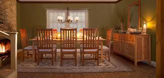 Cherry Wood Dining Room Furniture Dining Room Furniture Vermont Woods Studios