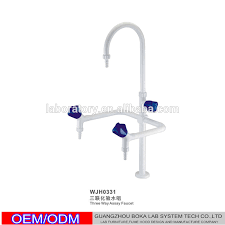 Laboratory Faucet Wholesales Three Ways Swan Neck Water Faucet Lab Water Tap Lab
