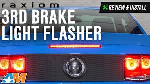 mustang third brake light restore 2005 2014 mustang raxiom 3rd brake light flasher review install