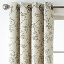 Grommet Top Blackout Curtains Home Expressions Glendale Leaf Grommet Top Blackout Curtain Panel