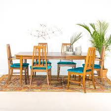 Teal Dining Room Chairs Mid Century Dining Chairs Set Of 6 Atomic Furnishing Design