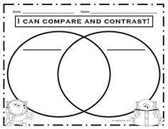 freebie animal compare and contrast graphic organizer science