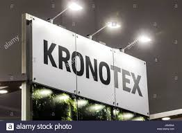 Laminate Flooring Kronotex Moscow Russia April 2017 Logo Sign Of Kronotex Company