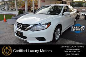 nissan altima for sale carfax 2016 nissan altima 2 5 s stock 4616 for sale near great neck ny