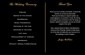 custom wedding programs custom wedding programs for jacie pedro silhouette wedding