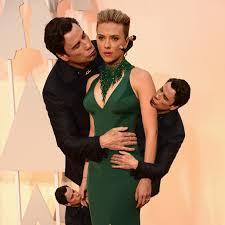 Meme John Travolta - john travolta plants an awkward kiss on scarlett johansson and births