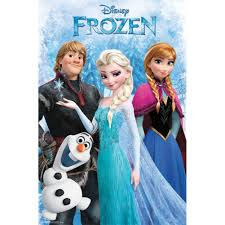 amazon trends international rp13539 frozen group poster 22