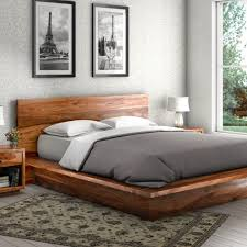 Wood Platform Bed Reclaimed Wood Platform Bed With Storage Mtc Home Design