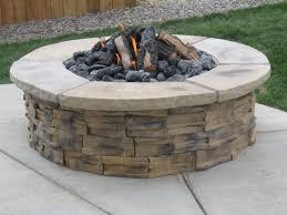 Build Firepit Paver Patio Pit Designs Kits How To Build A Brick