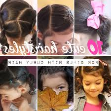 photo hairdo for little with curls some pictures of easy