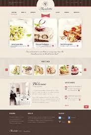 cooking website template restaurant web website and design web
